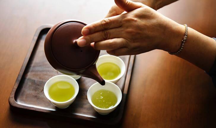 緑茶で集中力を高める