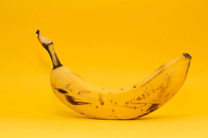 バナナで集中力を高める