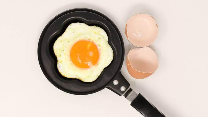 卵で集中力を高める