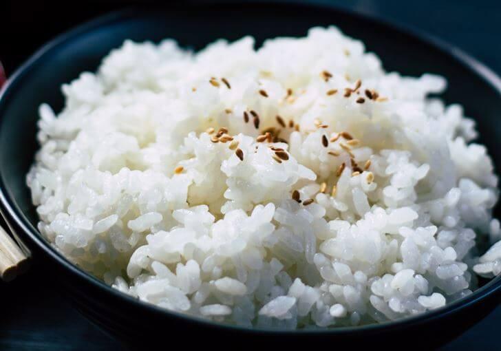 お米で集中力を高める