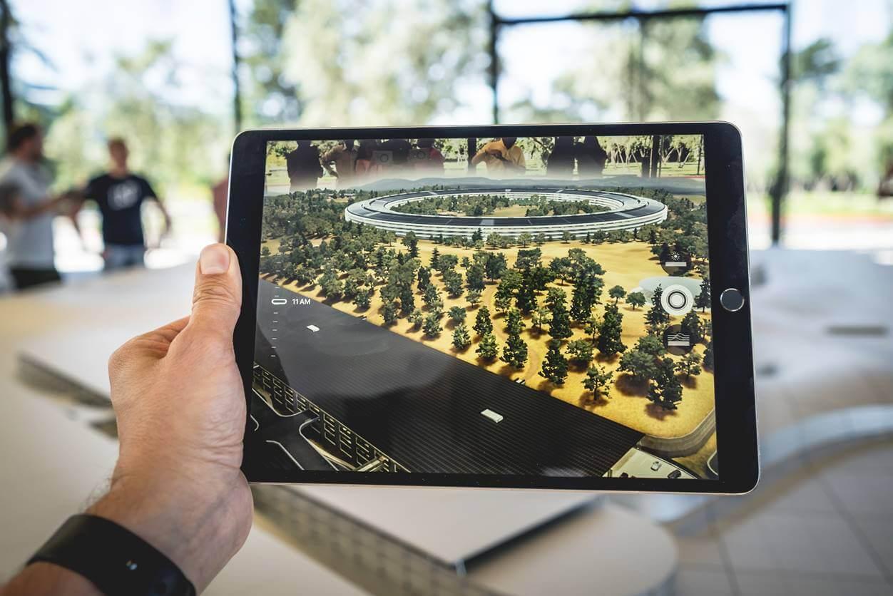 2019年版の新型iPad mini 5のフロントカメラは700万画素、バックカメラは800万画素