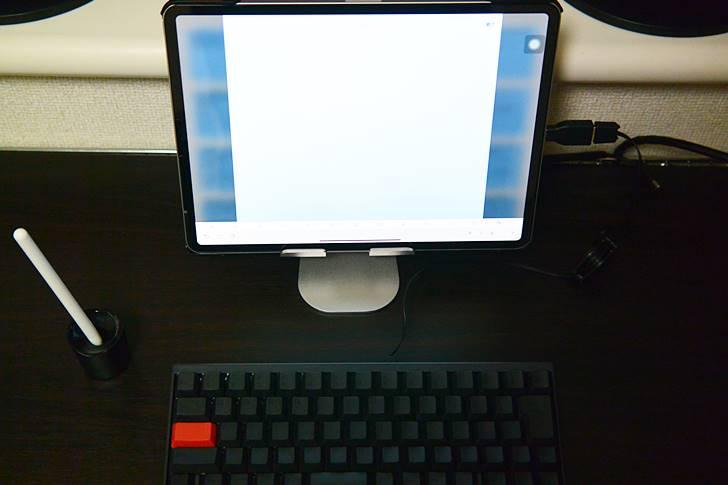 有線の高級キーボードでも、iPadやiPhoneで使用できます