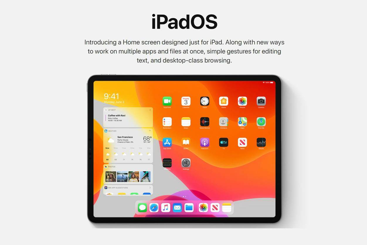 iPadOSはiOSとは違う?新OS・新機能でどう変わるのか【マウス対応】