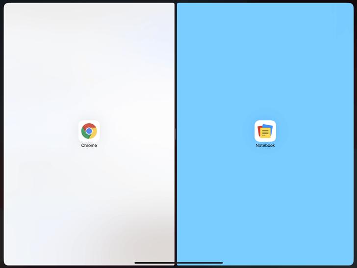 【概要】Split View(スプリット・ビュー)とは?→iPadを分割して2つのアプリを同時に使用できます